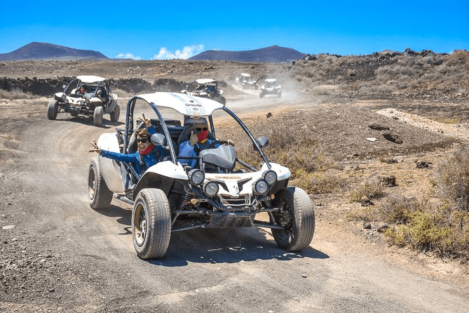 Dune buggy excursion on Fuerteventura