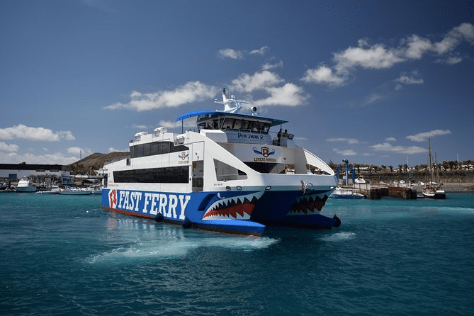 Cheap return ferry crossing to Lanzarote