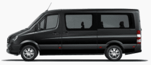 Minibus for ski